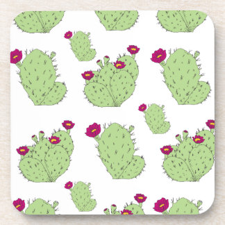 Prickly Pear Pattern Coaster
