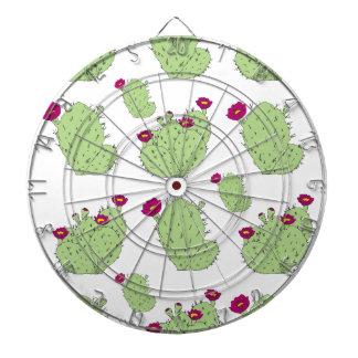 Prickly Pear Pattern Dartboard