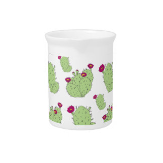 Prickly Pear Pattern Pitcher