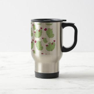 Prickly Pear Pattern Travel Mug