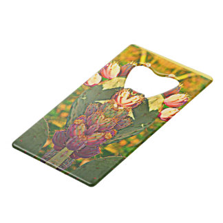 Prickly Pear Photo Art - Credit Card Bottle Opener