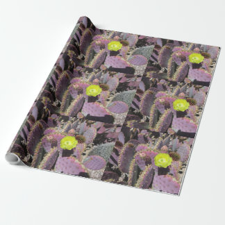 Prickly Pear - Purple Yellow