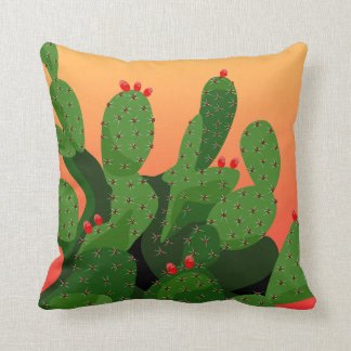 Prickly Pear Sunset American Mojo Cushion