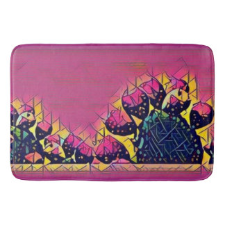 Prickly Pear Sunset Bath Mats