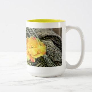 Prickly Pops Two-Tone Coffee Mug