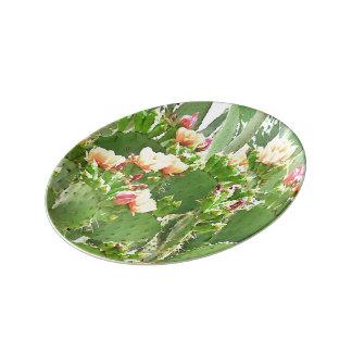 PricklyPear Porcelain Plate