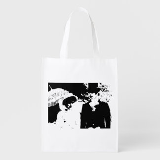Pride and Prejudice double-sided Reusable Grocery Bag