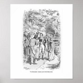 Pride and Prejudice Jane Austen Ladies Wall Art