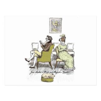 Pride and Prejudice - Mr. and Mrs. Bennet Postcard