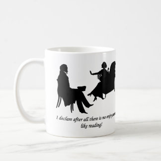 Pride and Prejudice - No enjoyment like reading Coffee Mug