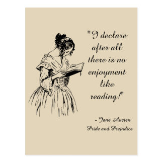 Pride and Prejudice Postcard