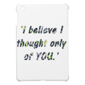 Pride and Prejudice Quote Case For The iPad Mini