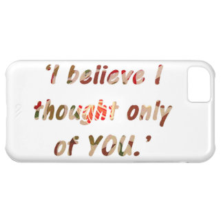 Pride and Prejudice Quote iPhone 5C Case