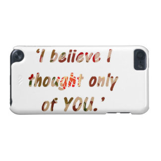 Pride and Prejudice Quote iPod Touch (5th Generation) Covers