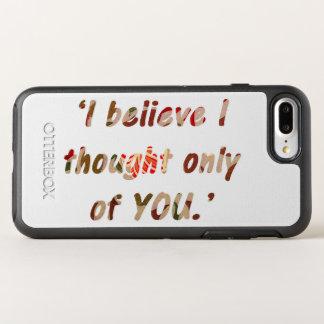 Pride and Prejudice Quote OtterBox Symmetry iPhone 8 Plus/7 Plus Case