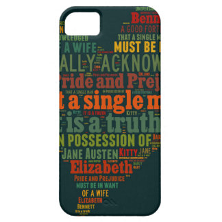Pride and Prejudice Word Cloud Barely There iPhone 5 Case