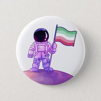 Pride Astronaut [Abrosexual] 6 Cm Round Badge