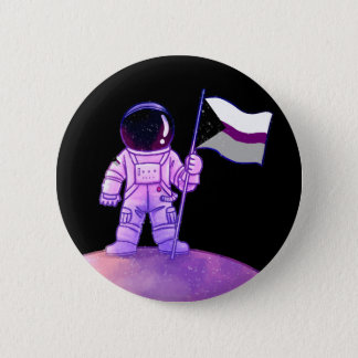 Pride Astronaut [Demisexual] 6 Cm Round Badge