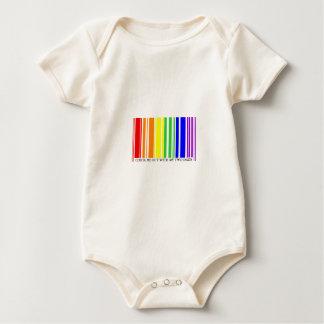 Pride Barcode - Babygrow Baby Bodysuit