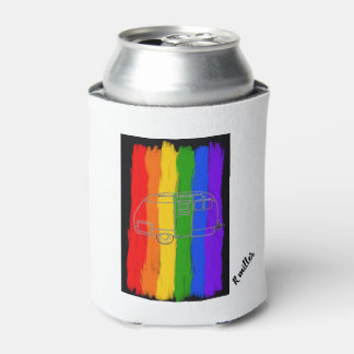 Pride camping cozy can cooler