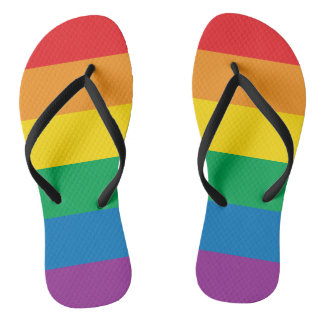 Pride | Colorful Rainbow Design Thongs