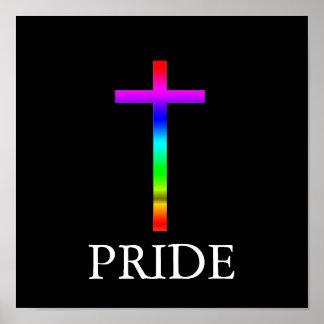 Pride Cross Poster