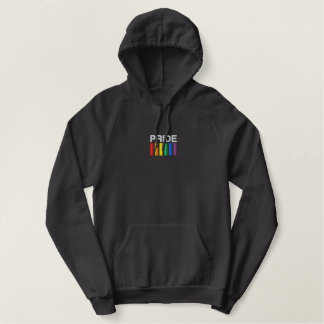 Pride Embroidered AA Pullover Fleece Hoodie