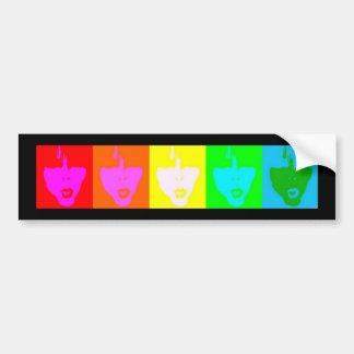 Pride Faces Bumper Sticker