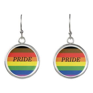 Pride Flag Drop Earrings