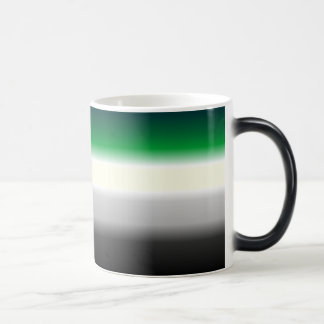 Pride Flag reveal!  Aro flag appears Magic Mug