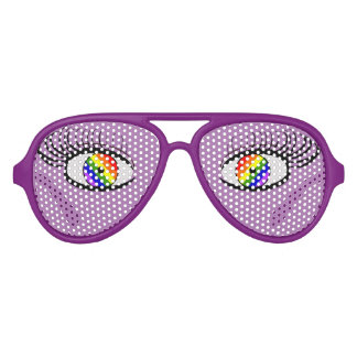 Pride Funny Glasses With Eyes