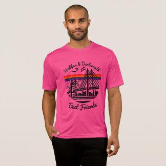 Pride Halifax Dartmouth Best Friends shirt pink