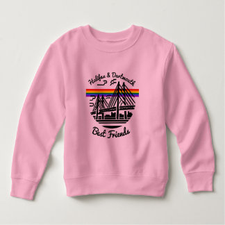 Pride Halifax Dartmouth Best Friends shirt pink
