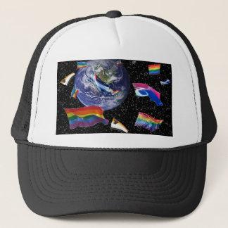 Pride in Space Trucker Hat