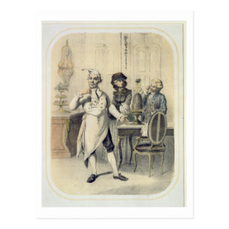 Pride in the Kitchen, from a series of prints depi Postcard