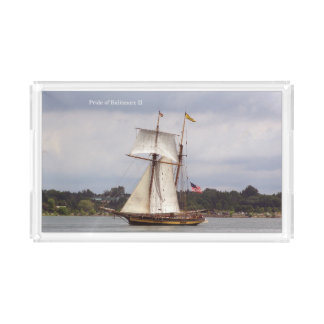 Pride of Baltimore II acrylic tray