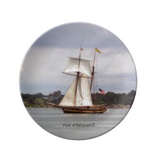 Pride of Baltimore II decorative plate