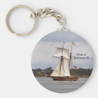 Pride of Baltimore II key chain