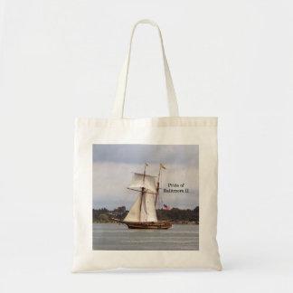 Pride of Baltimore II tote bag