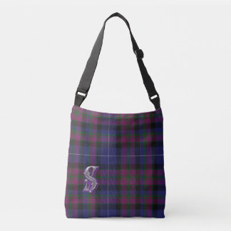 Pride of Scotland Plaid Cross Over Body Bag Tote Bag