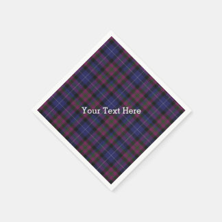 Pride of Scotland Tartan Plaid Paper Napkins