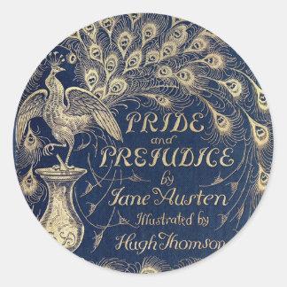 Pride & Prejudice Antique Cover Sticker