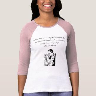 Pride & Prejudice Quote T-shirt