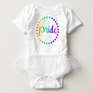 Pride Rainbow Circles Baby Bodysuit