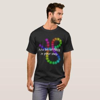 PRIDE Stepping Rainbow Tshirts Diversity LGBT