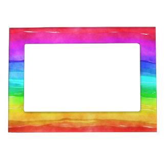 Pride symbol flag giving a discrimination lifesty magnetic picture frame