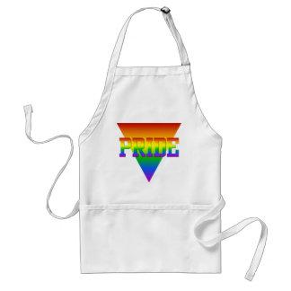 Pride Triangle apron - choose style & color