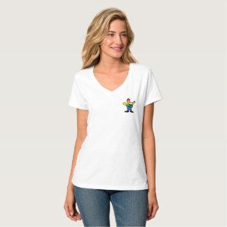 Pride Women's V-Neck Tee Shirt