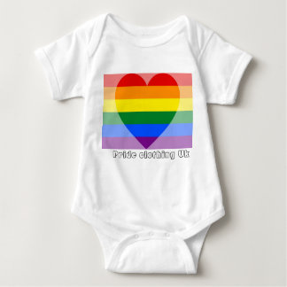 prideclothing baby grow baby bodysuit