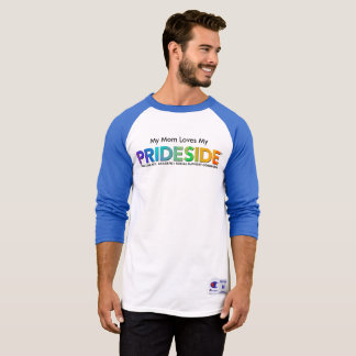 PRIDESIDE® Champion 3/4 Sleeve Raglan Tee